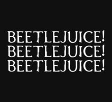 Beetlejuice (white text) by Beetlejuice
