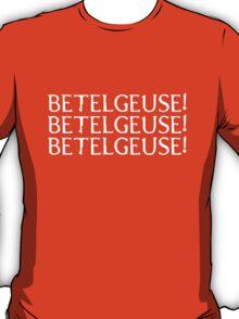 Betelgeuse (white text) T-Shirt