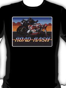 Road Rash Genesis Megadrive Sega Start menu screenshot T-Shirt