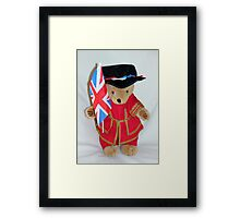 Jubilee Beefeater Framed Print