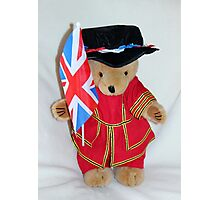 Jubilee Beefeater Photographic Print