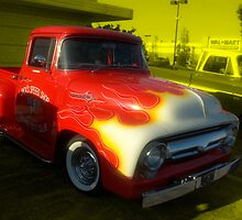 1956 Ford F-100 Custom Pickup Truck by TeeMack