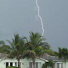 Lightning at Vero Beach by Larry  Grayam