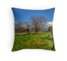 The Lowlands Throw Pillow
