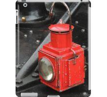 Steam Train Lamp iPad Case/Skin