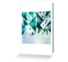 Triangular Greeting Card