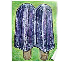 """Grape Popsicle"" Poster"