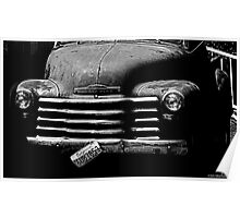 Old Chevy Poster
