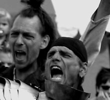 Another way of Haka, battle cry! by patjila
