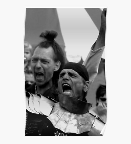 Another way of Haka, battle cry! Poster