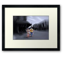 City in Motion Series Framed Print