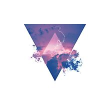 Lightning Hipster Triangle by hocapontas