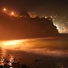 Terrigal, NSW, Australia @ Night by GritFX