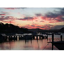Sittin' at the Dock of the Bay... Photographic Print