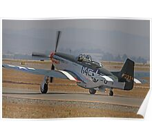 P-51D Wee Willy II Poster