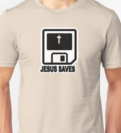 JESUS SAVES - RETRO Unisex T-Shirt