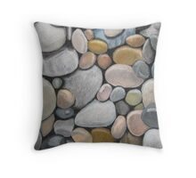 Stones2 Throw Pillow