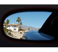 Rear View Mirror Photographic Print