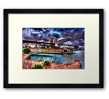 Campbells Cove. Framed Print