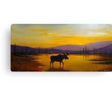 Golden Serenity Canvas Print