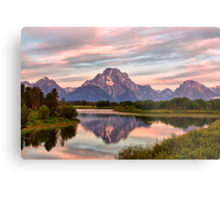Mount Moran Reflection Metal Print