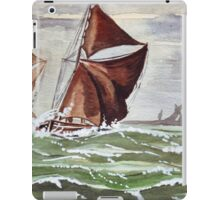 Maybe we could sail away... iPad Case/Skin