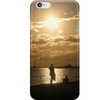 Sunset Over The Horizon iPhone Case/Skin