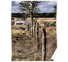 Down The Fence Line     ( BoneYard Series ) Poster