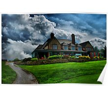Redtail Golf Club - Storm Clearing Poster