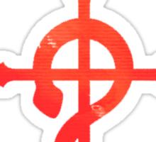 Edward Elric Logo - Full Metal Alchemist Sticker