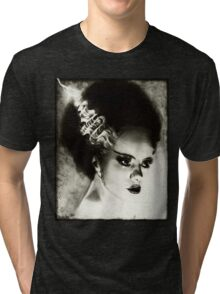 Bride of Frankenstein Tri-blend T-Shirt