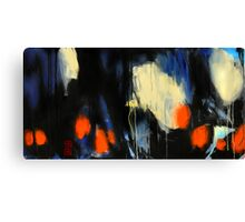 erased to transparency  Canvas Print