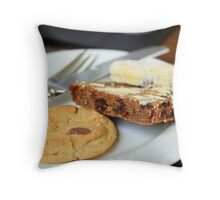 Cake & Biscuits Throw Pillow