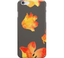 - Yellow tulips patter 2 - iPhone Case/Skin