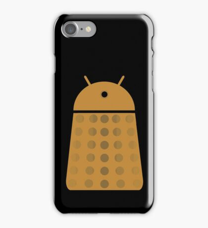 Droidarmy: Dalek - Dalek Gold Sticker iPhone Case/Skin
