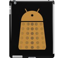 Droidarmy: Dalek - Dalek Gold Sticker iPad Case/Skin