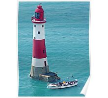 Boat Trip to Beachy Head Lighthouse Poster