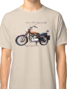 Royal Enfield - Grow Old Disgracefully Classic T-Shirt