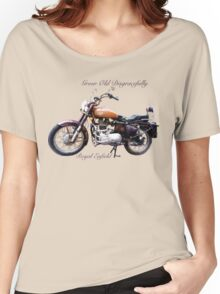 Royal Enfield - Grow Old Disgracefully Women's Relaxed Fit T-Shirt