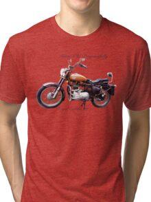 Royal Enfield - Grow Old Disgracefully Tri-blend T-Shirt