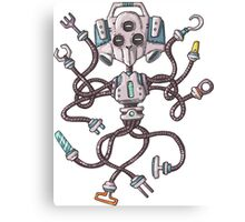 Multifunctional Robot Canvas Print