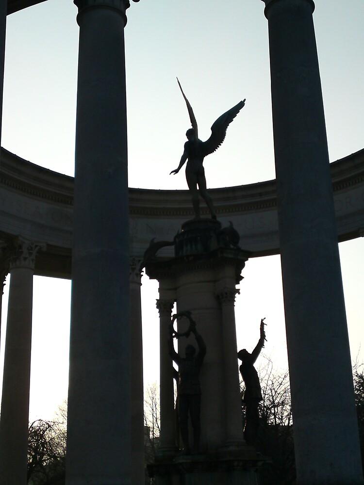 Cenotaph, Cardiff by 'ö-Dzin Tridral