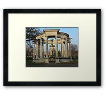 Cenotaph, Cardiff Framed Print
