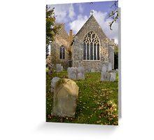 St.Nicholas at Wade Greeting Card
