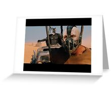 Mad Max: Fury Road - It's Better With Batman Greeting Card