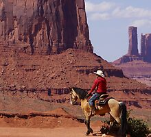 Lone Rider by © Loree McComb