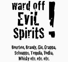 Evil Spirits - Black Lettering Unisex T-Shirt