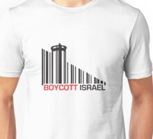 Boycott Israel (wall version) Unisex T-Shirt