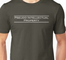 Pseudo-Intellectual Property - White Lettering Unisex T-Shirt