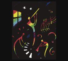 Jazz Night Rainbow by robertemerald